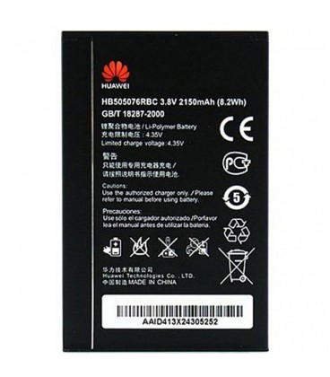 Battery Huawei HB505076RBC 2150mAh For A199 / G710 / G610 / G610S / G610S / G610T / G700 / G606 / C8815 / G716